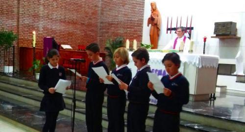 Primer sacramento de la reconciliación 2018 Colegio San José Esclavas SCJ Cádiz
